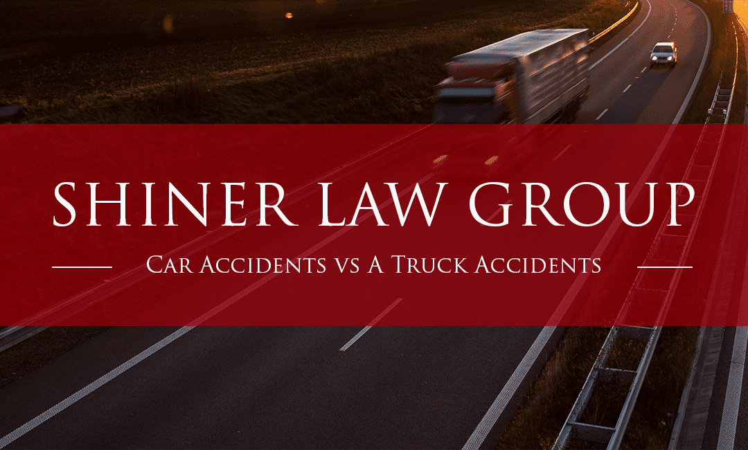 Car Accidents Versus A Truck Accidents