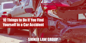 10 Things to Do If You Find Yourself In A Car Accident