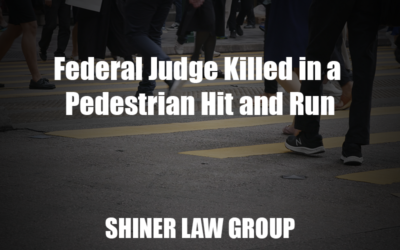 Federal Judge Killed in a Pedestrian Hit and Run